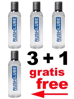 3 + 1 RUSH LUBE WATER PACK