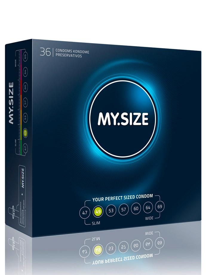 36 x MY.SIZE Condoms - Size 49