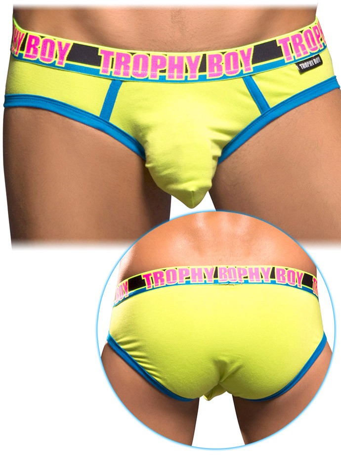 Andrew Christian - Trophy Boy Brief Lime