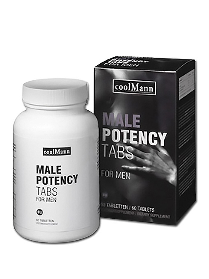 CoolMann Male Potency Tabs - 60 Tabletten