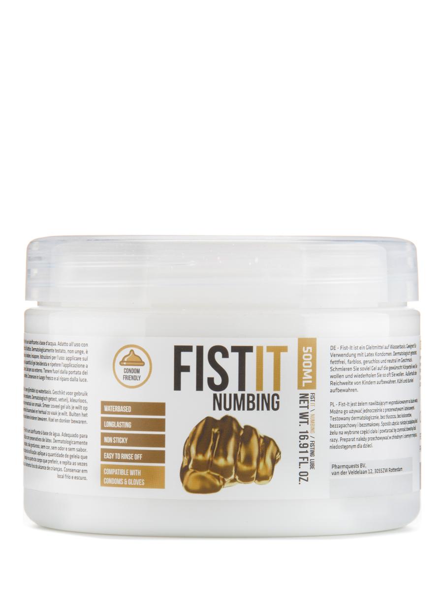 FistIt Numbing Gleitmittel auf Wasserbasis 500 ml