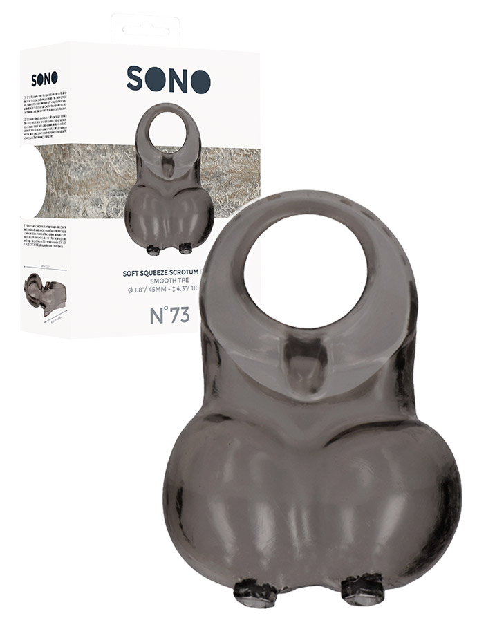Soft Squeeze Scrotum Ring - SONO No.73