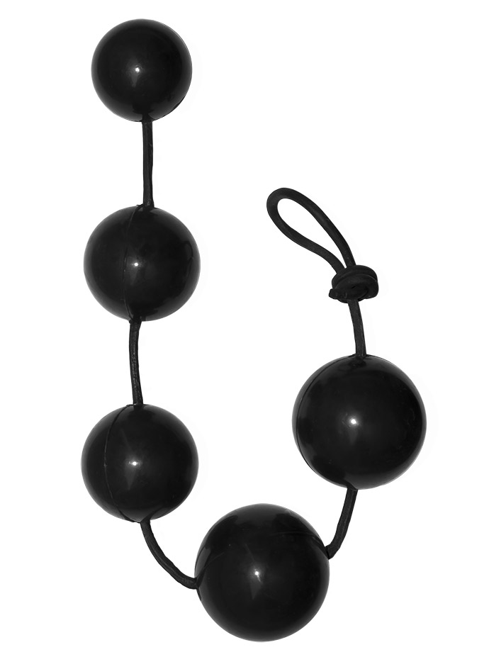 Rubber Anal Balls - Large