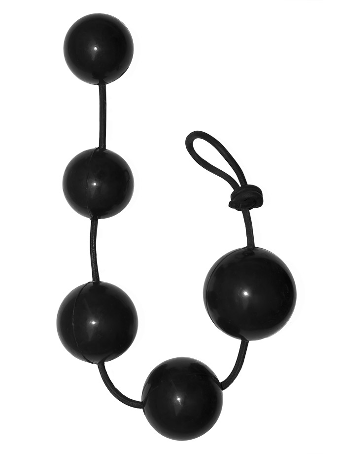 Rubber Anal Balls - Small