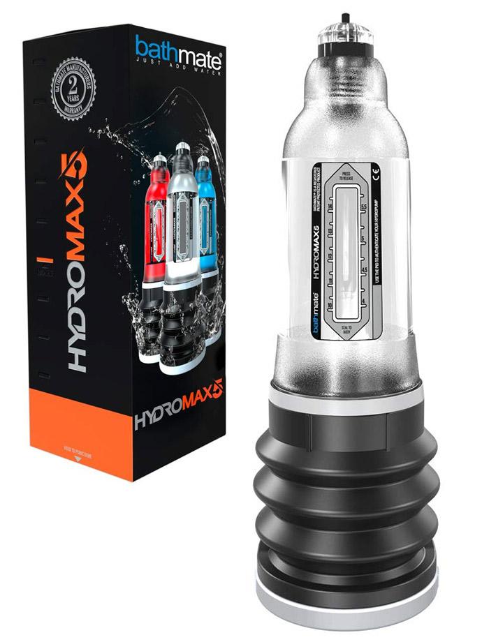 Bathmate Hydromax5 - Penis Pump Clear
