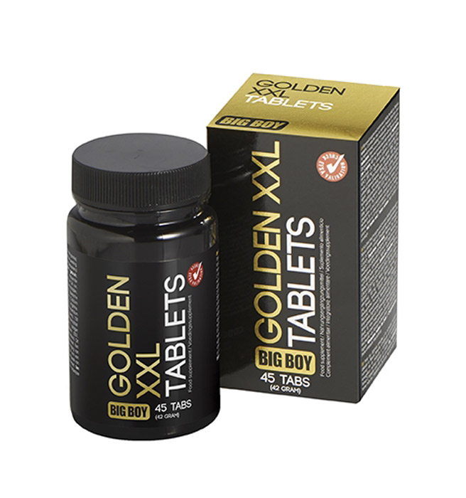 Big Boy Golden XXL - 45 Tabletten