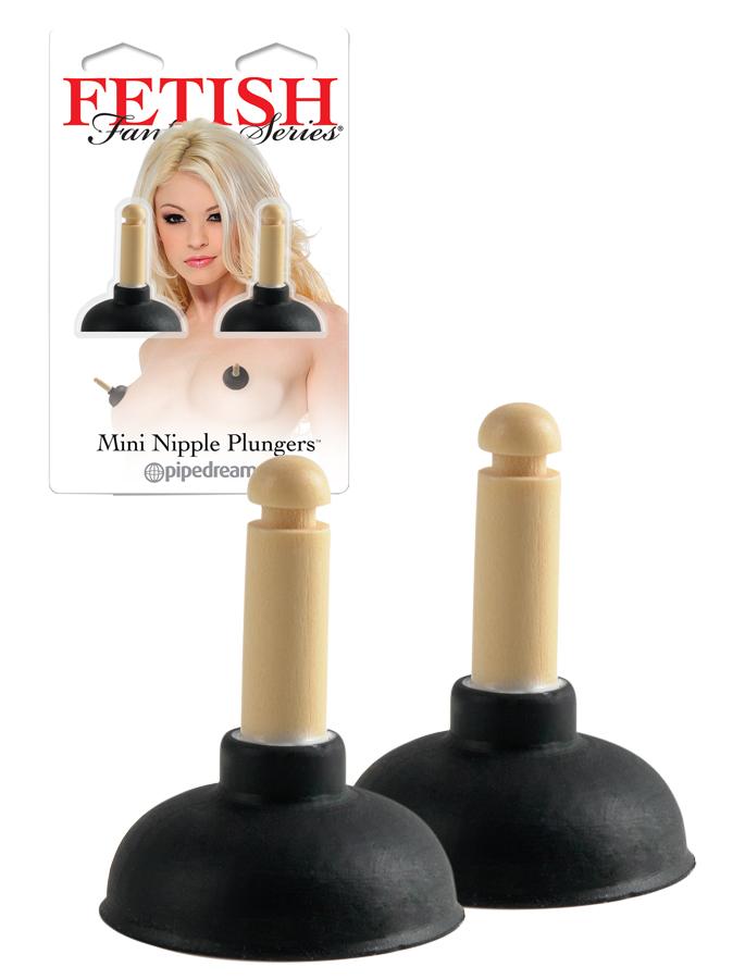 Fetish Fantasy - Mini Nipple Plungers