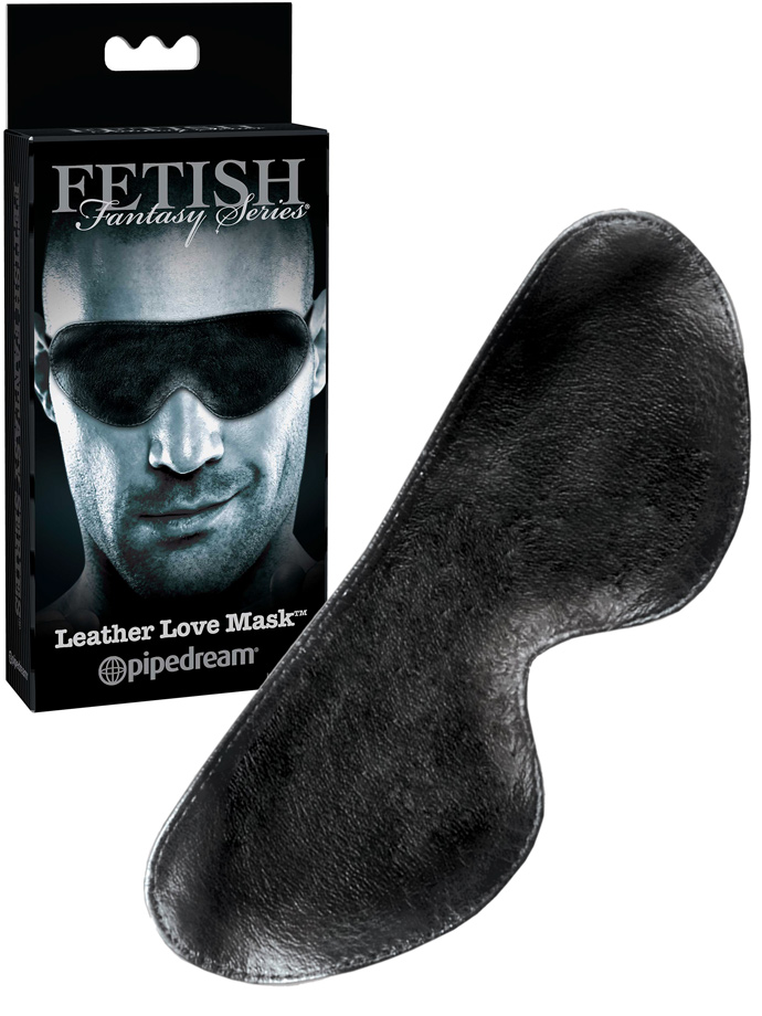 Special Edition Leather Love Mask