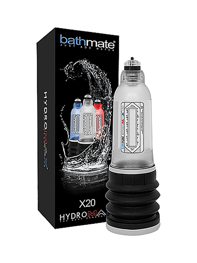 Bathmate Hydromax X20 Penispumpe Clear