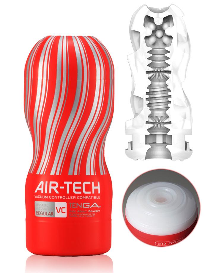 Tenga - Air-Tech Reusable Vacuum Cup Masturbator VC - Regular