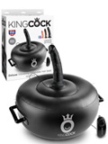 King Cock - Deluxe Vibrating Inflatable Hot Seat