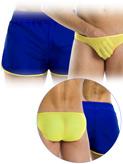 Modus Vivendi - Double Boxer Shorts - Blue-Yellow