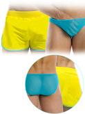 Modus Vivendi - Double Boxershort - Yellow-Aqua